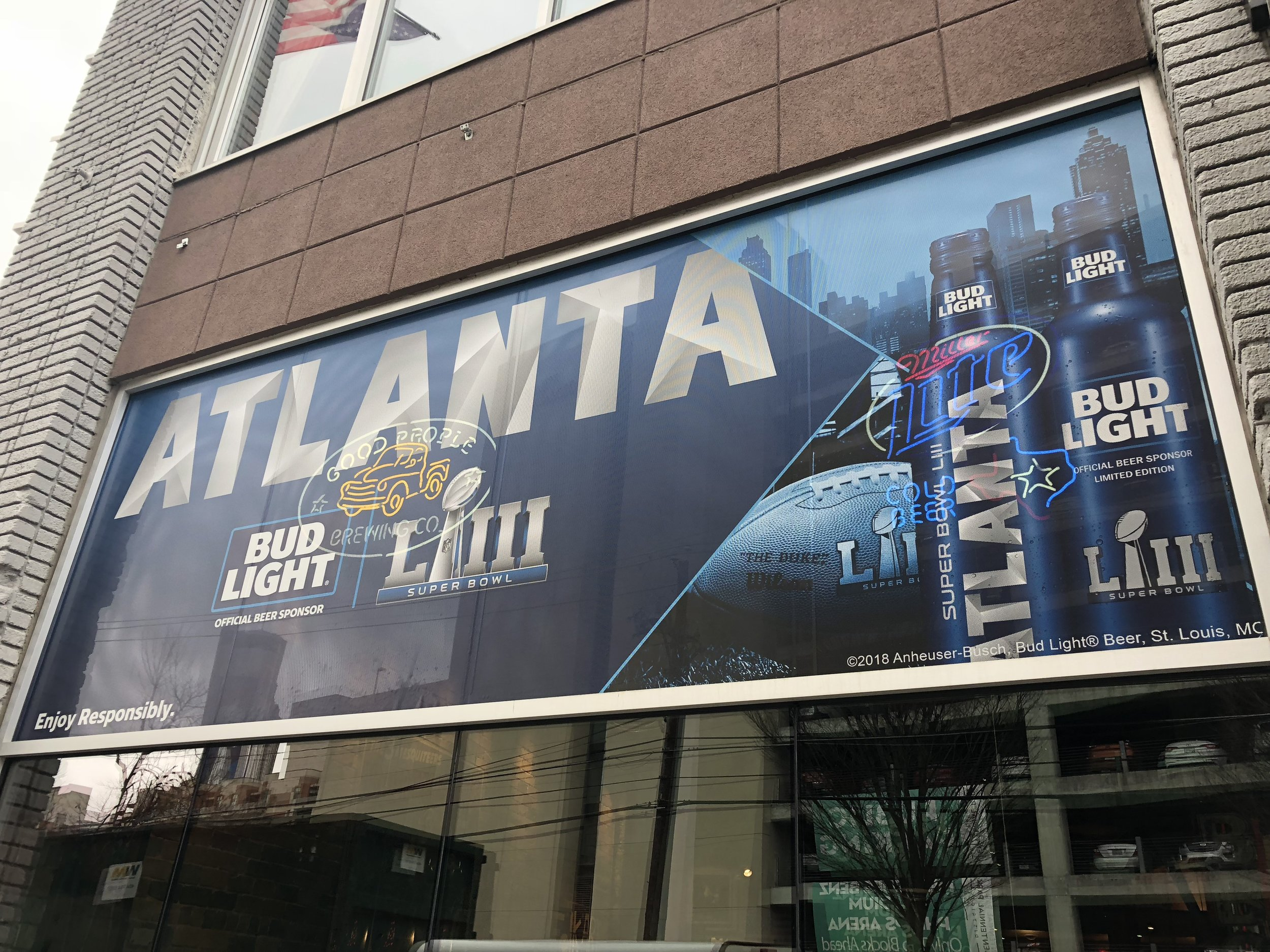 Anheuser-Busch-Super-Bowl-LIII_Twin-Smokers-Restaurant_Window-Graphics_Events_LSIGraphics_Atlanta-GA ..