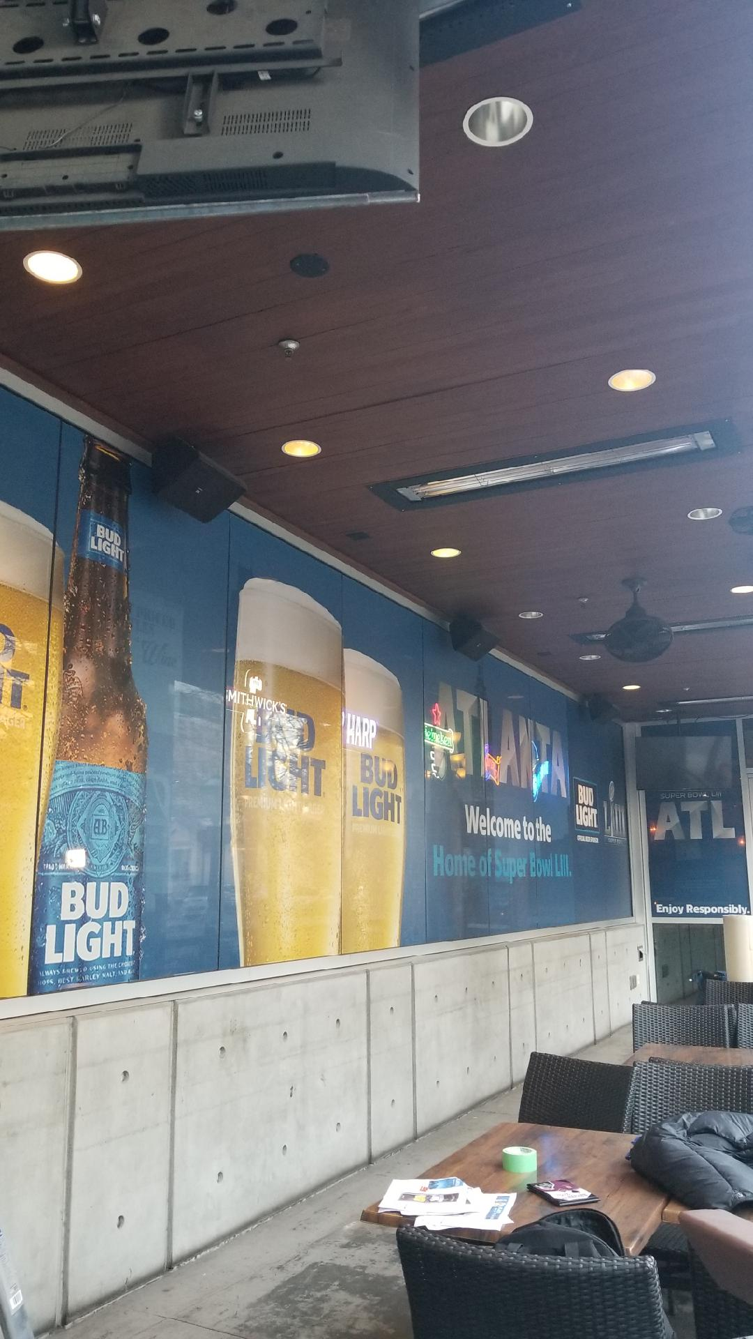 Anheuser-Busch-Super-Bowl-LIII_Fado-Irish-Pub_Window-Graphics_Events_LSIGraphics_Atlanta-GA_2 ..