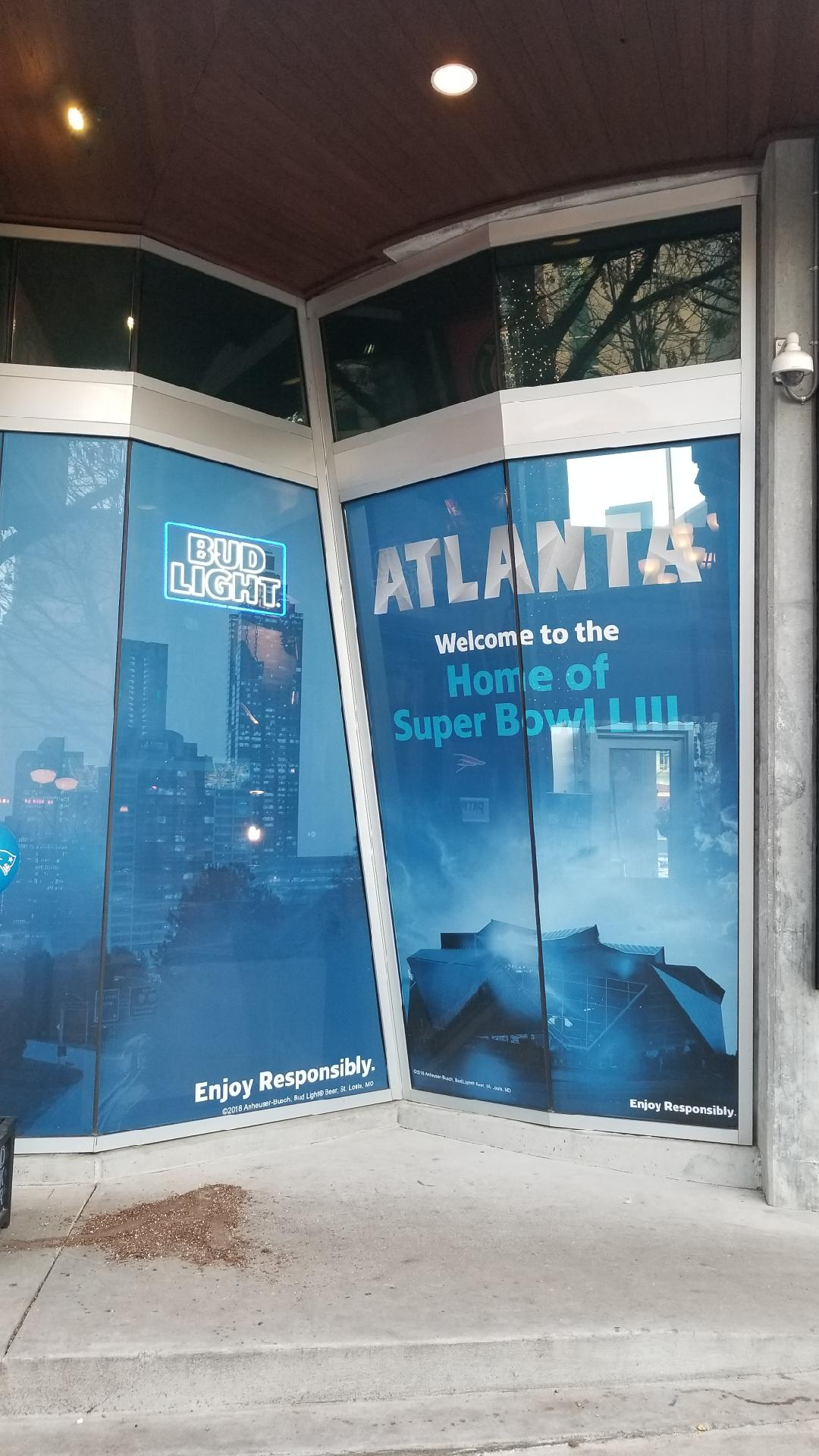 Anheuser-Busch-Super-Bowl-LIII_Fado-Irish-Pub_Window-Graphics_Events_LSIGraphics_Atlanta-GA_3 ..