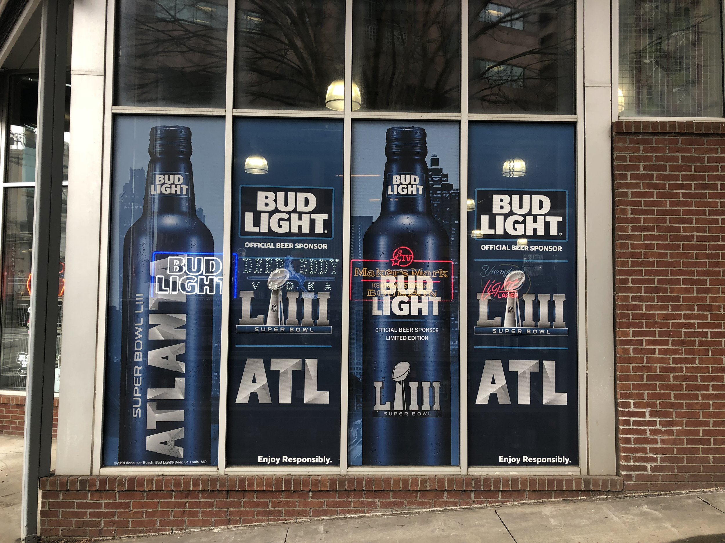 Anheuser-Busch-Super-Bowl-LIII_Macs-Wine-and-Spirits_Window-Graphics_Events_LSIGraphics_Atlanta-GA ..