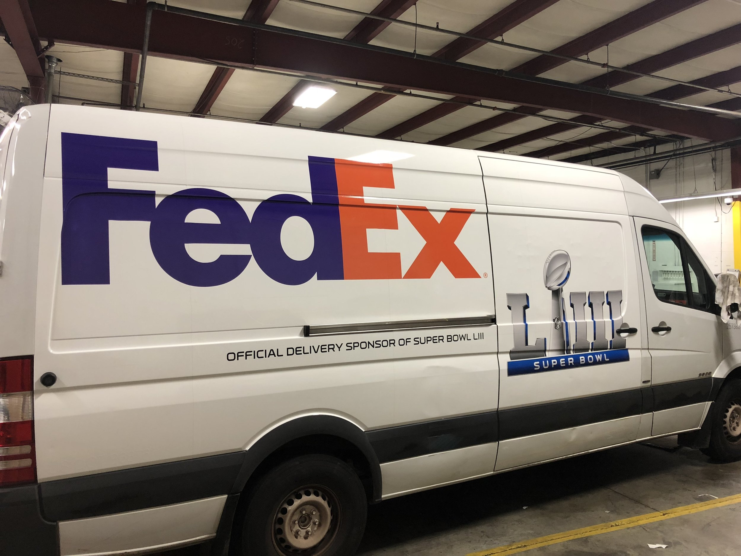 FedEx-Super-Bowl-LIII_Vehicle-Wraps_Events_LSIGraphics_Atlanta-GA ..