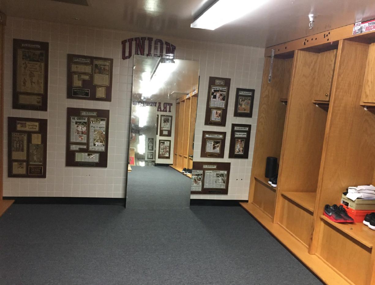 Before-Union-University_Womens-Basketball-Locker-Room_Interior-Branding_LSIGraphics_Memphis-TN-12 ..