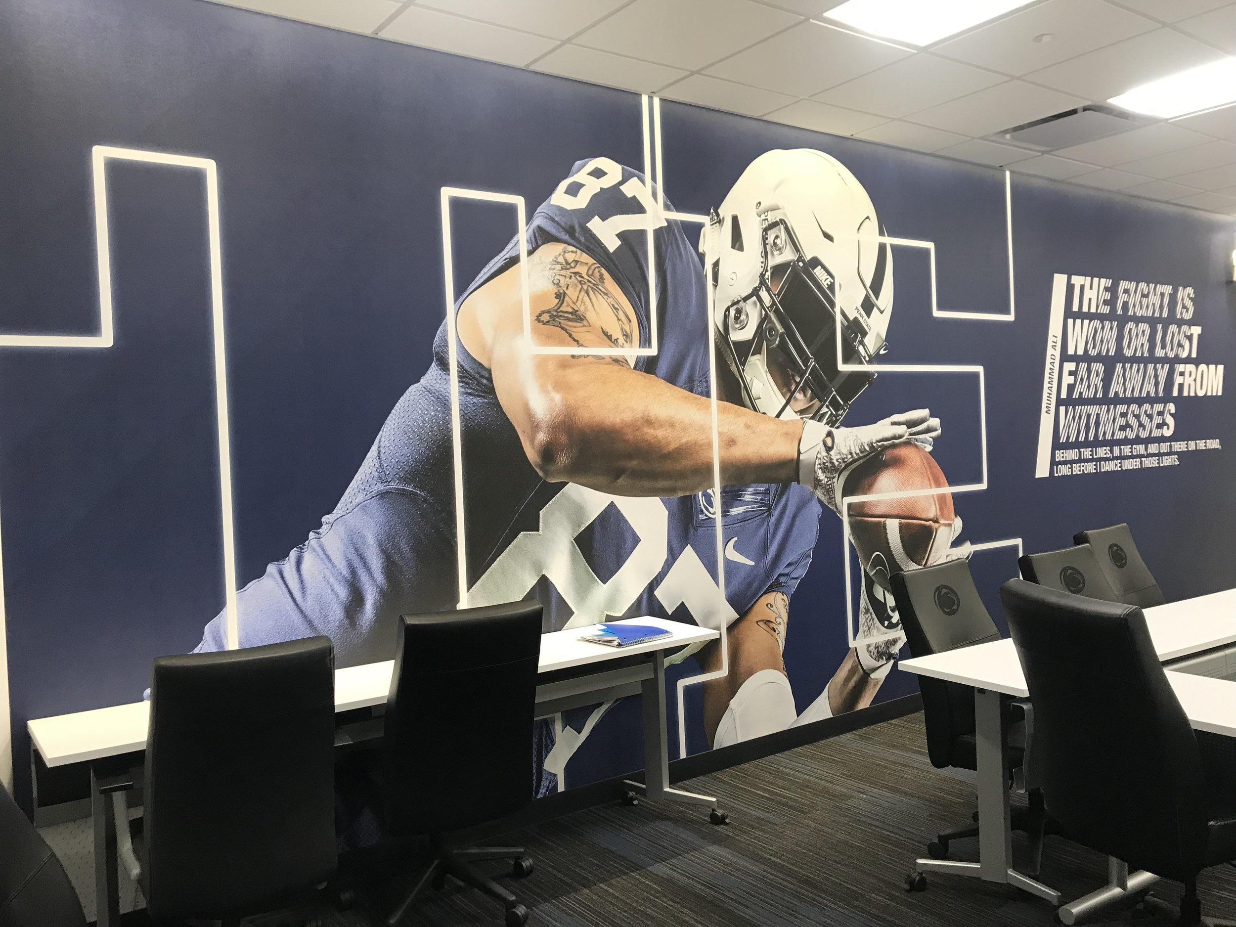 Penn-State-University_Football-Facility_Interior-Graphics_Branding_LSIGraphics-5 ..