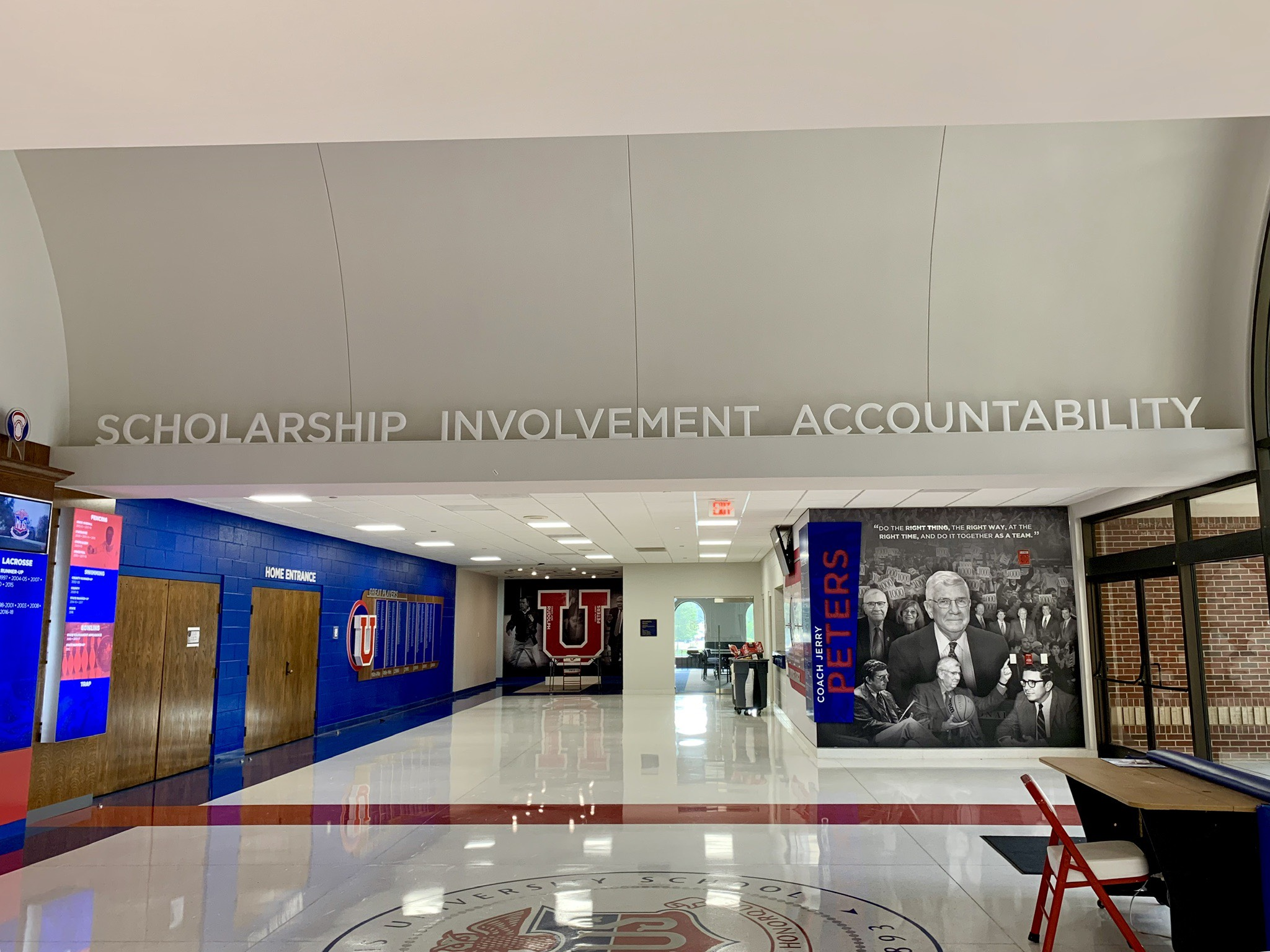 Memphis-University-School_Athletic-History-Wall_LSIGraphics_Memphis-TN-2 ..