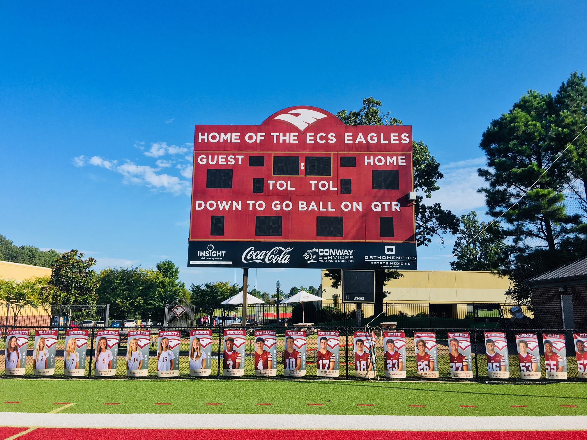 ECS Scoreboard