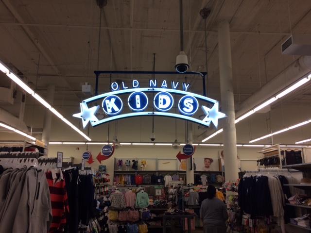 Old Navy Neon