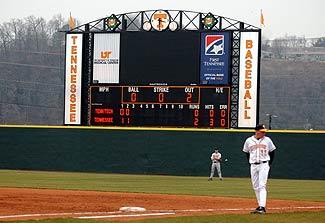 Tennessee Baseball Scoreboard