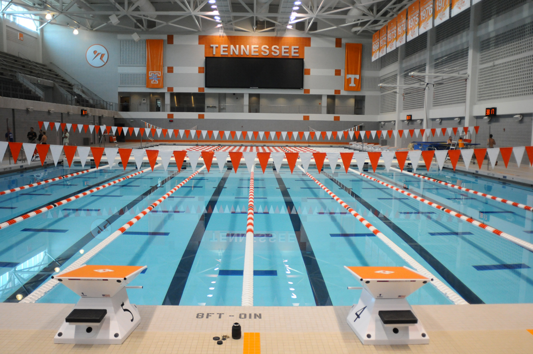 University of Tennessee Swimming Scoreboard