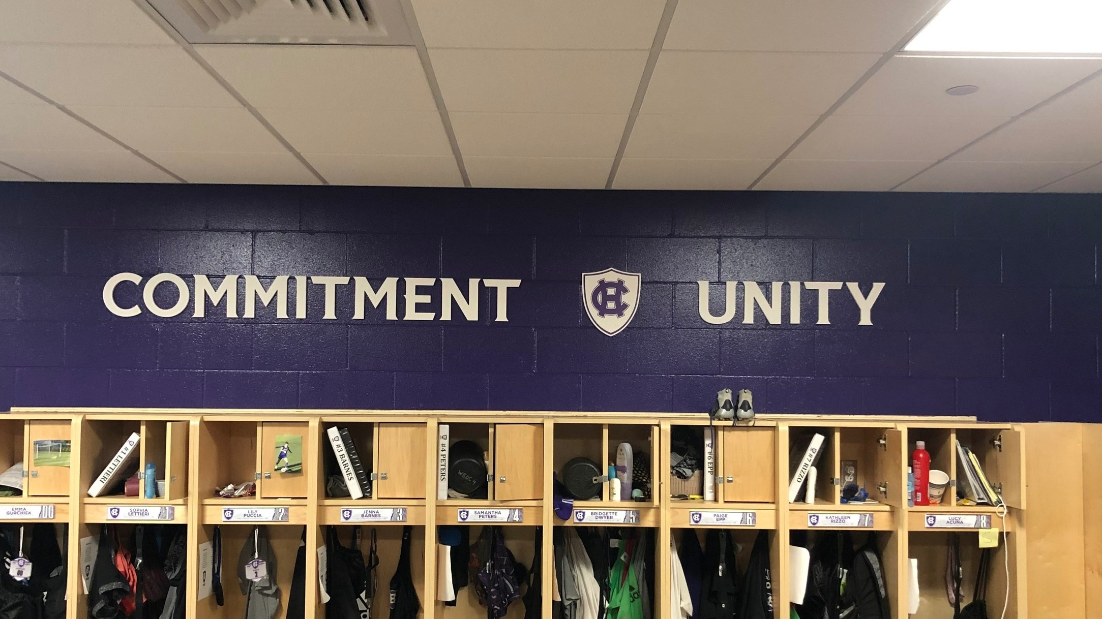 College-of-the-Holy-Cross_Womens-Soccer-Locker-Room_LSIGraphics_Providence-RI-2 ..