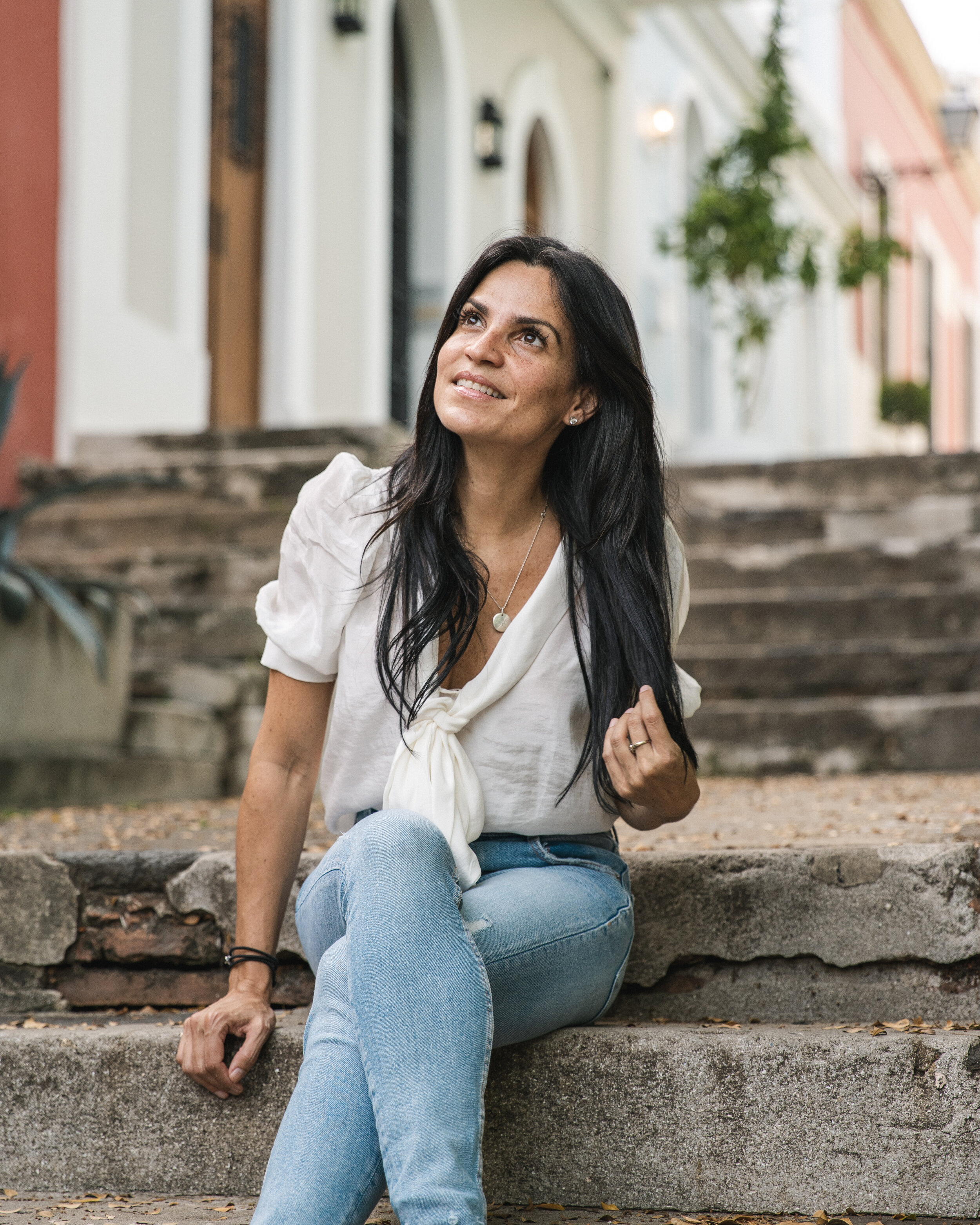 Mara Liz Meinhofer CPA, MBA, Financial Educator and TEDx Speaker, Old San Juan