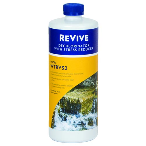 Atlantic Re-Vive Dechlorinator:  $19.95 - $28.99