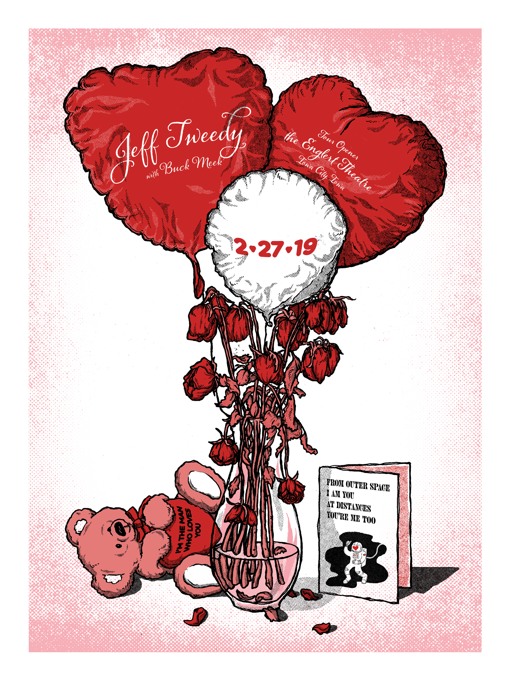 Jeff Tweedy Valentine's Day Screen Print