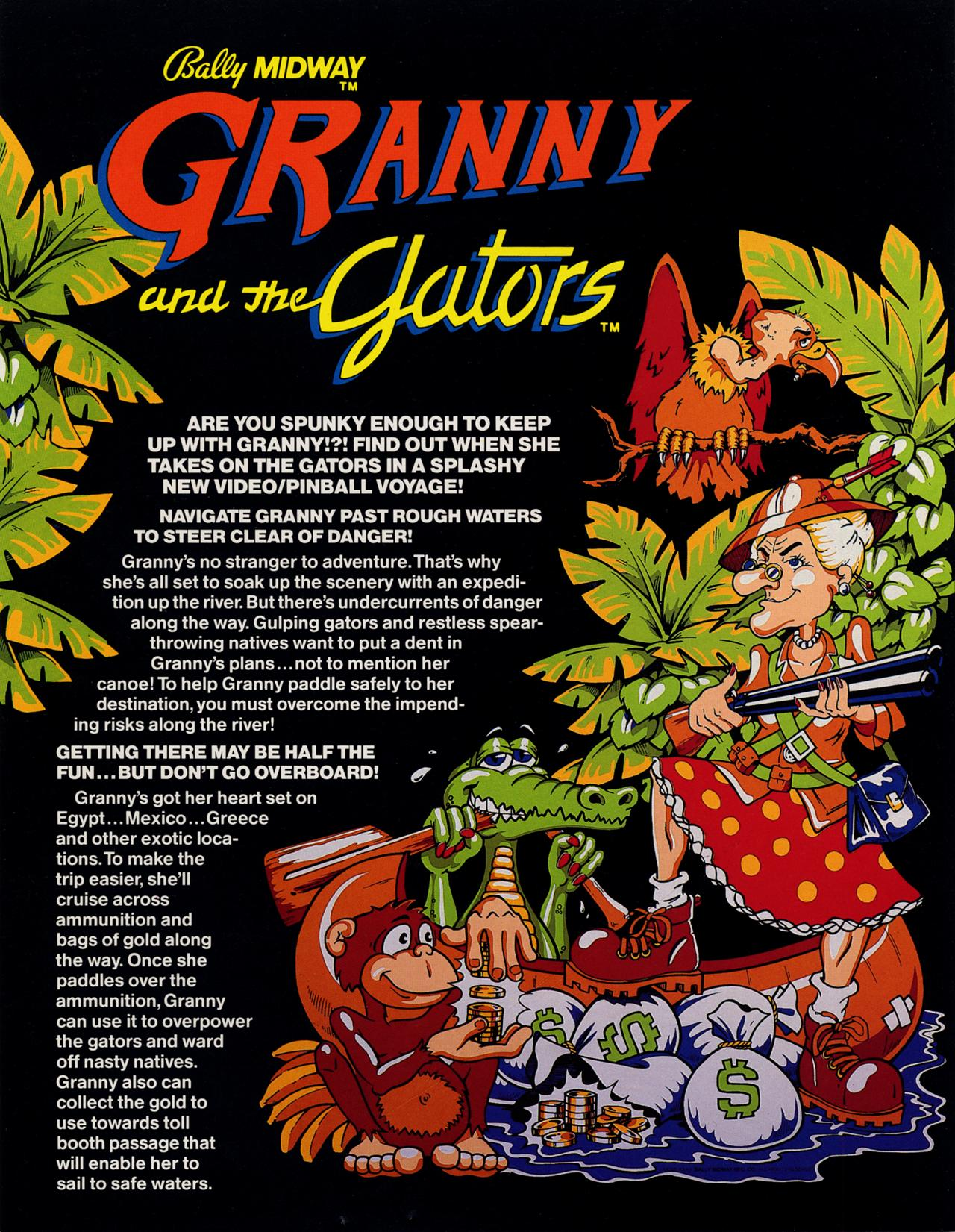 Granny and the Gators