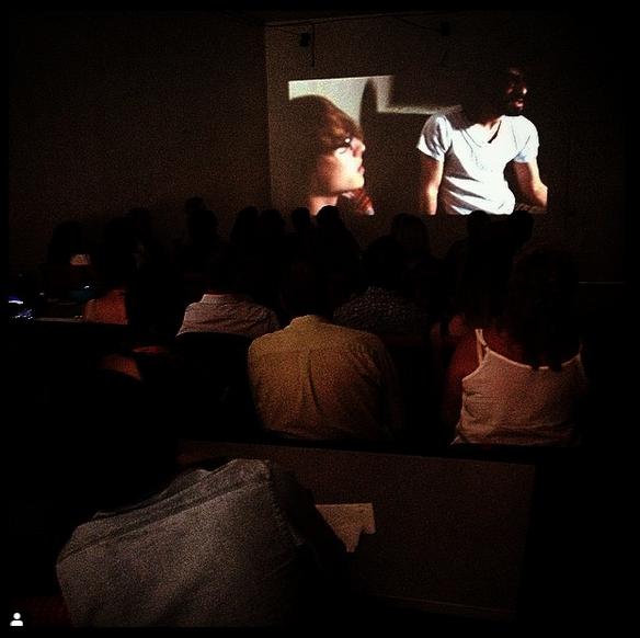 """""""Conscious"""" short film screening at Hamilton Music and Film Festival 2014."""