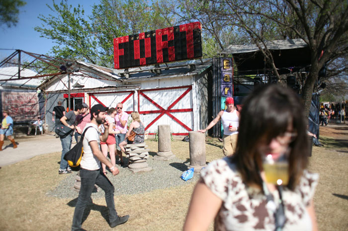 Levi's Fader Fort  : A Lasting SXSW Nomadic Format Venue