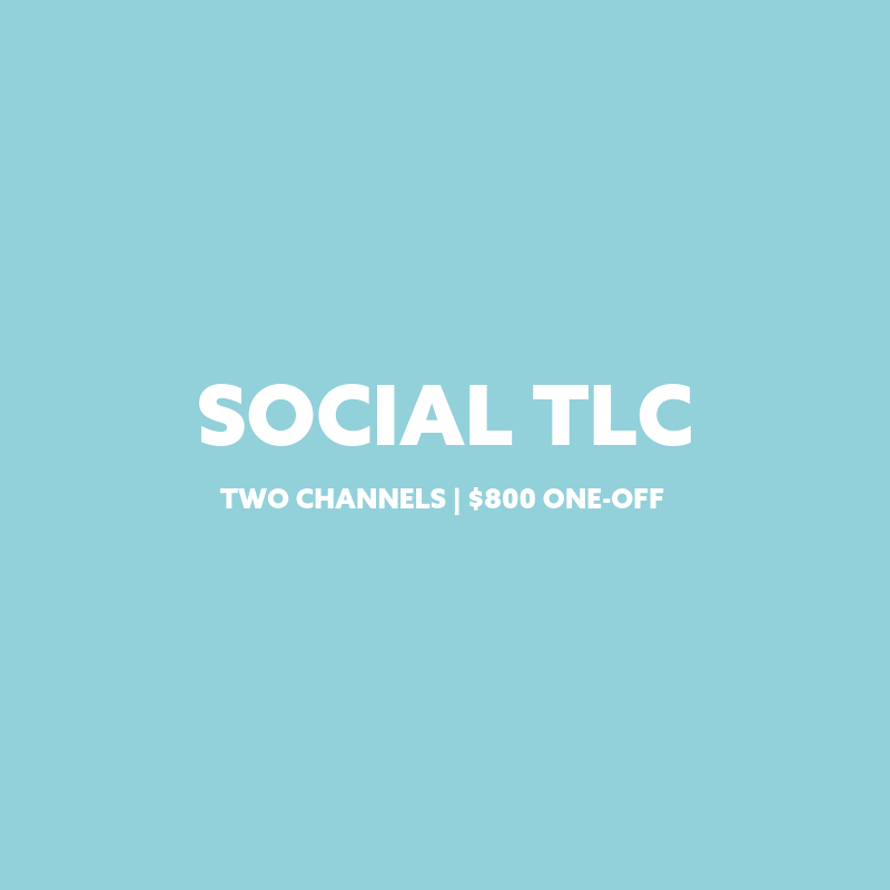 Social TLC package Plain Jane PR