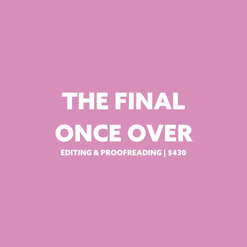 Plain Jane PR editing and proofreading