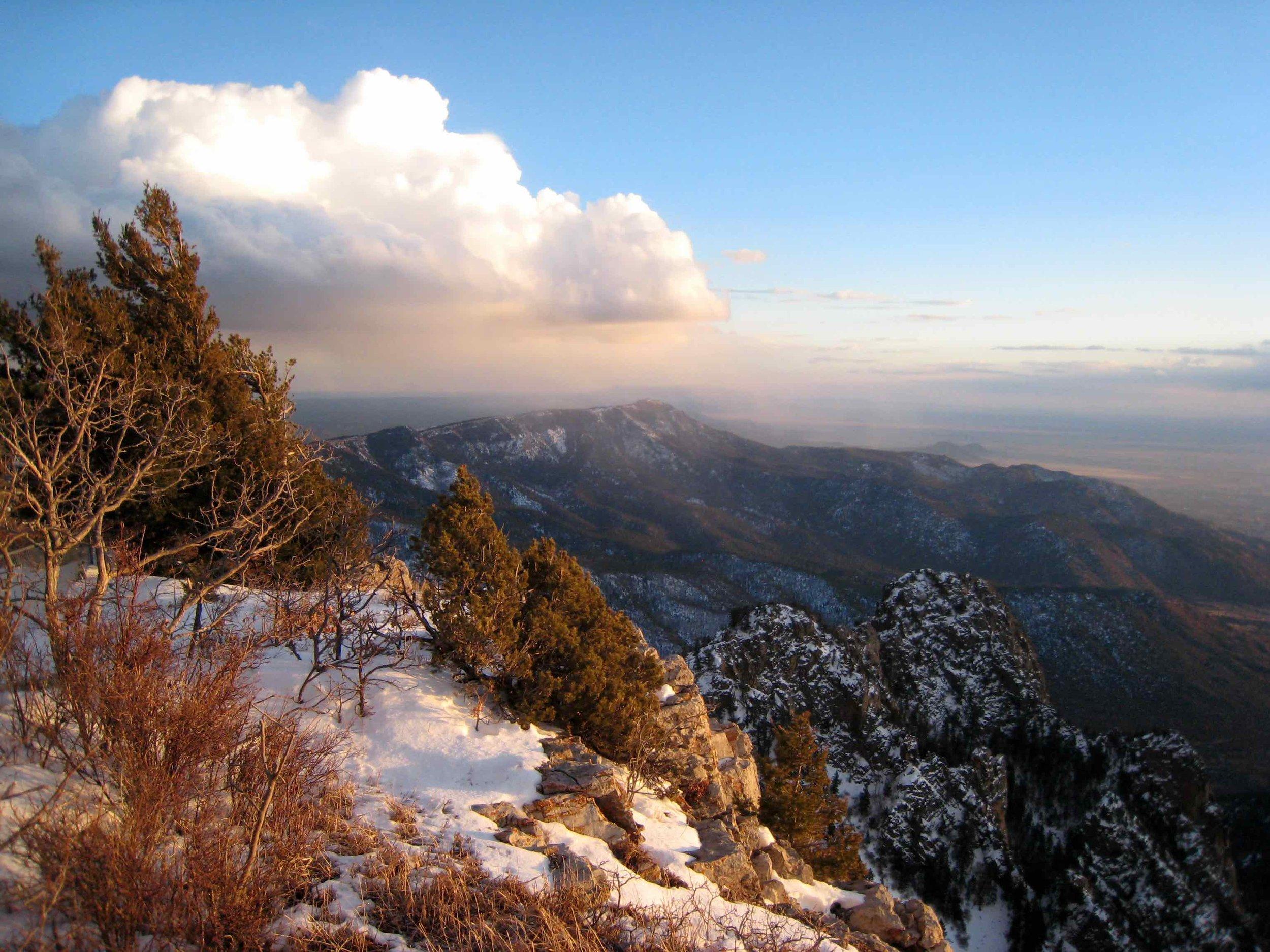 Sandia Mountain Snows