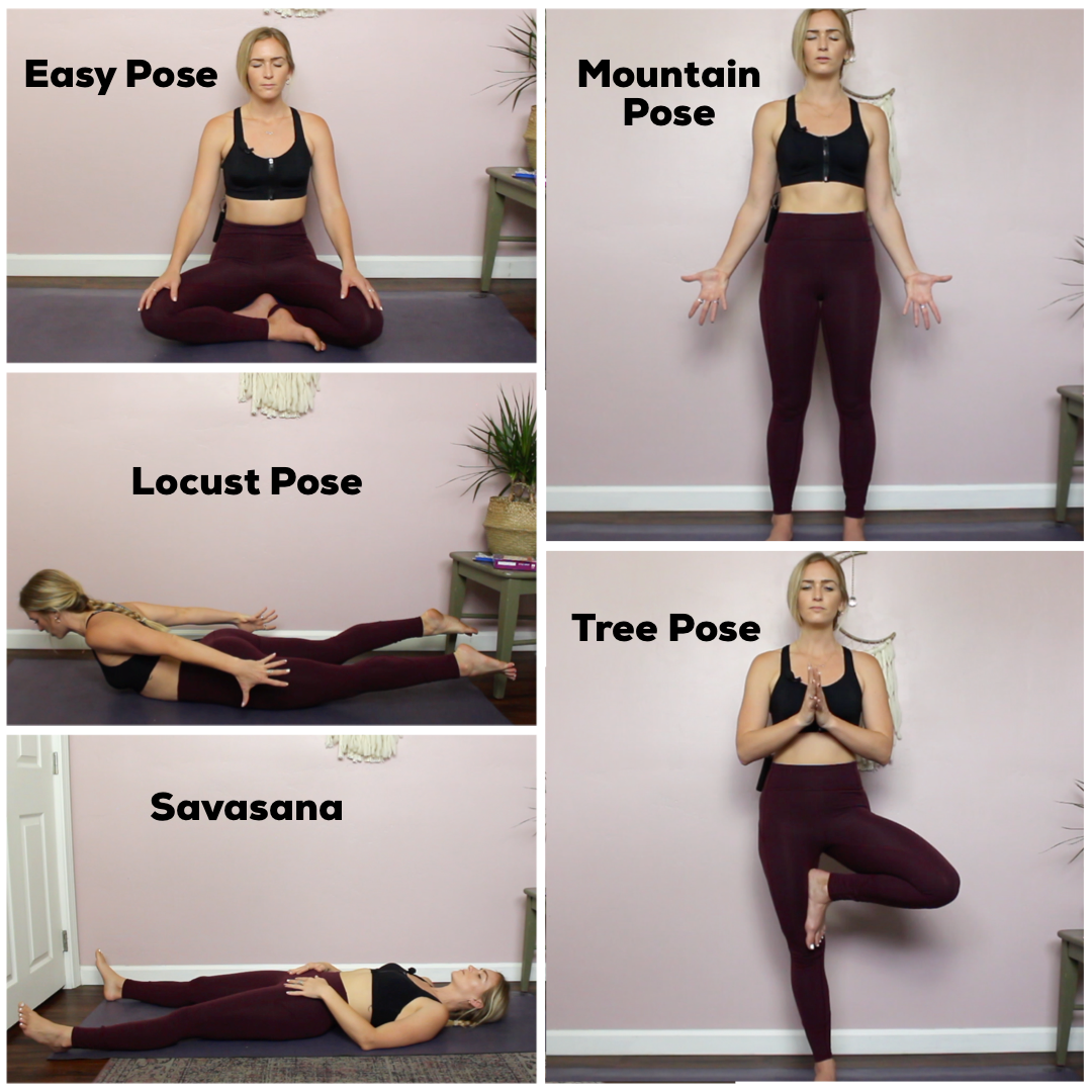 40 Yoga Poses To Balance Your Root Chakra + Decrease Fear & Anxiety