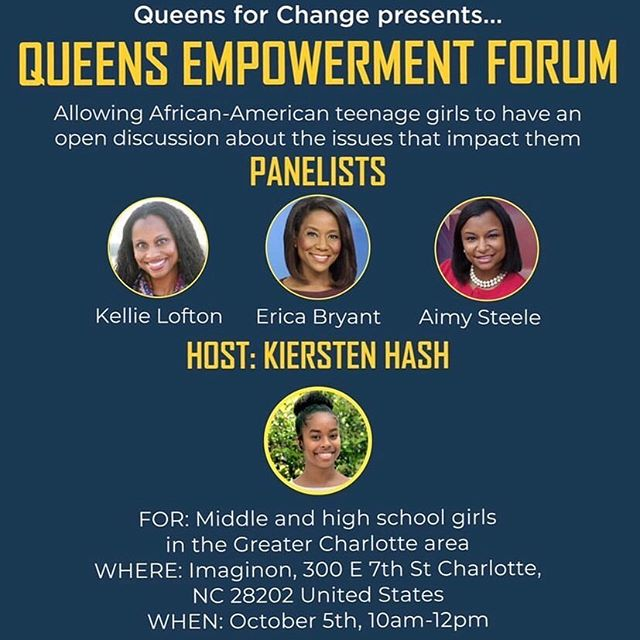 @girltalkcharlotte supports building up girls! #WeChangeLives #WeEmpower #WomenAndGirlsRock