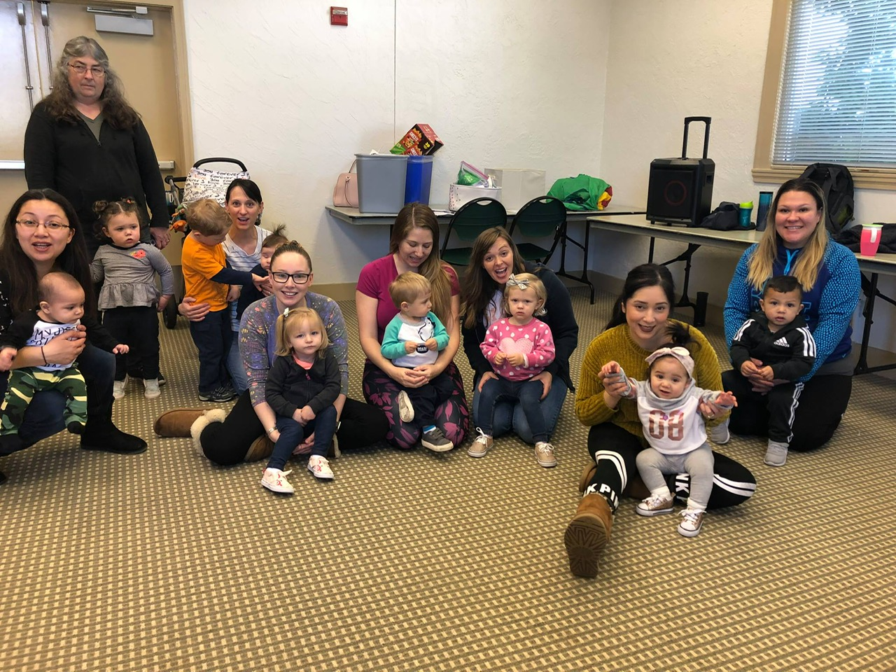 We provided 20 registered families FREE (Exploratory Moves™) classes for 10 weeks during the spring of 2019 at the Veterans Hall in Hollister, CA.