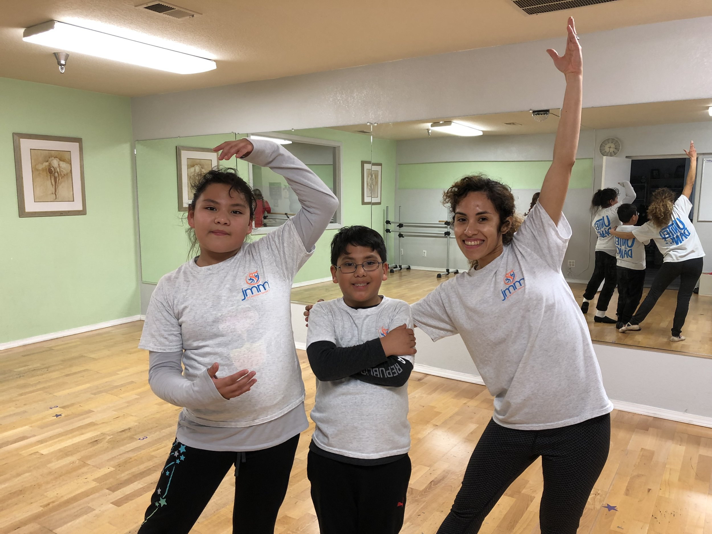 Spring 2019 we served 25 students through our bilingual dance classes…