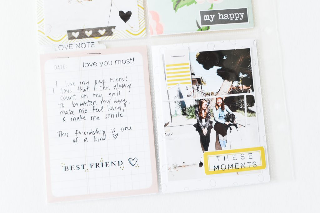 These Moments Pocket Page by Suzanna Stein - Noodoso