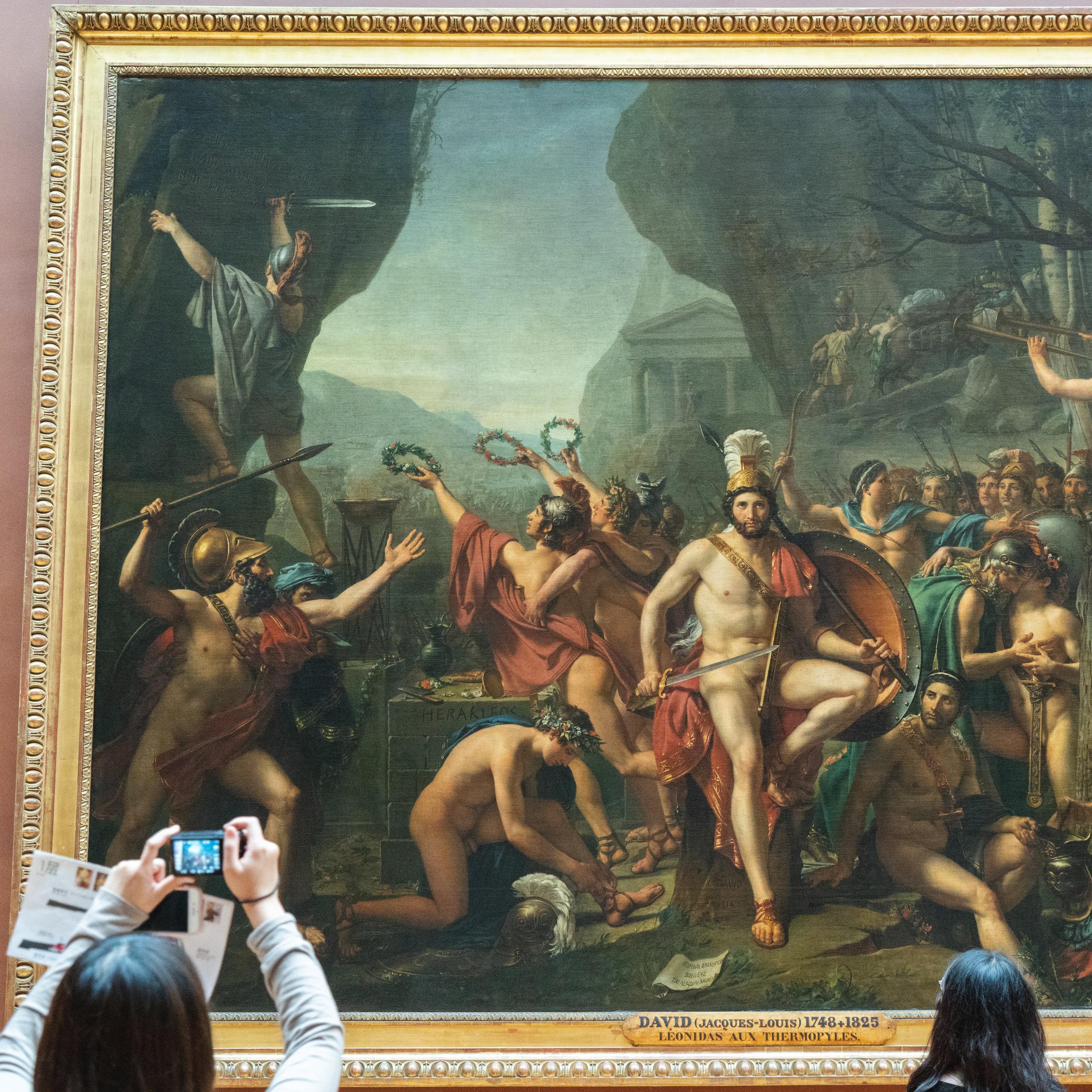 Léonidas at Thermopylae