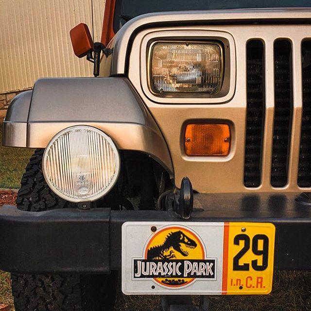 Need a ride? 🦕 #JurassicPark