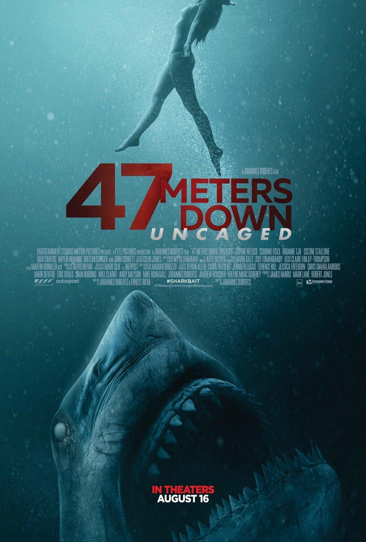 47 Meters Down: Uncaged (2019) - * *