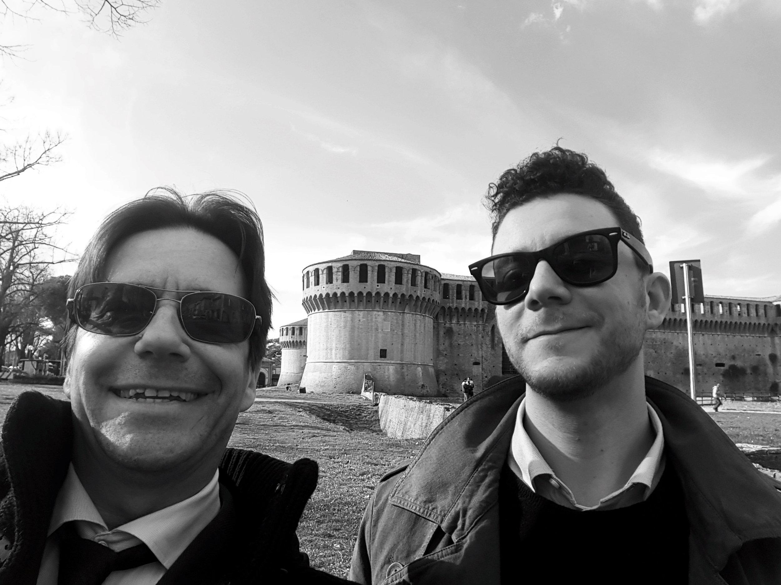 Riccardo e Manuel - In visita all'Accademia