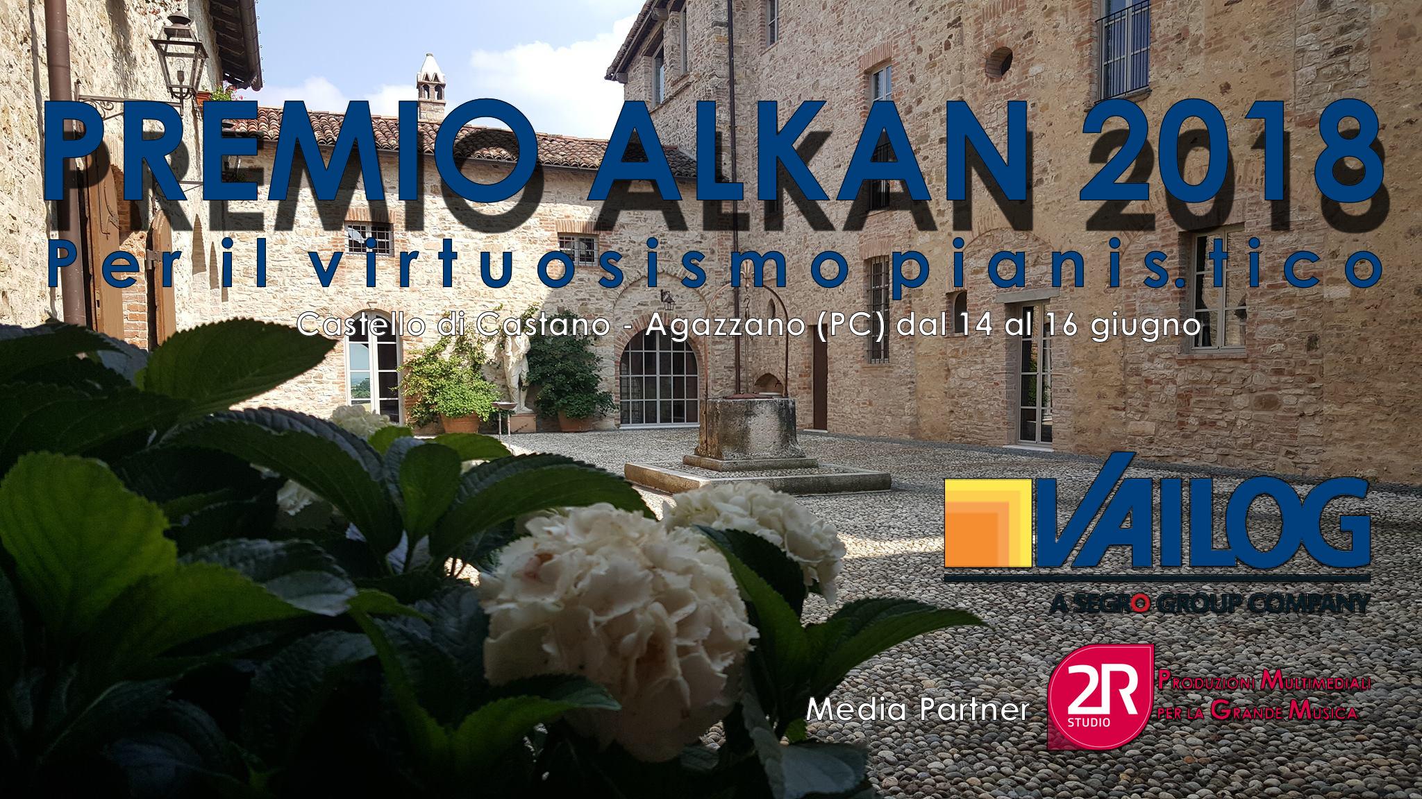 Premio Alkan 2018 - dal Castello di Castano in live streaming la serata del Premio Alkan con la vincitrice del premio Lavinia Bertulli a cura della 2R Studio Produzioni Multimediali.