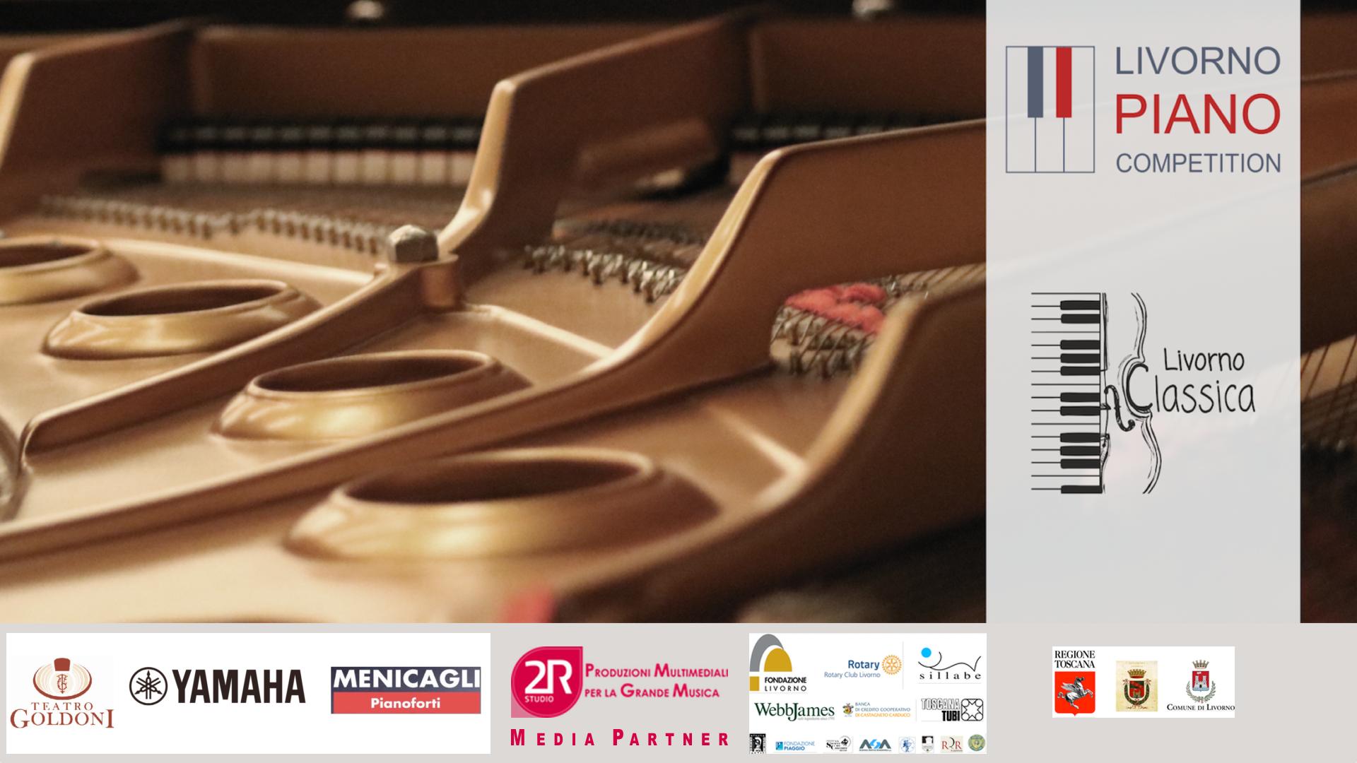 """Livorno Piano Competition - 2R Studio Produzioni Multimediali è media partner al Concorso Internazionale """"Livorno Piano Competition dal 21 al 26 gennaio 2019"""