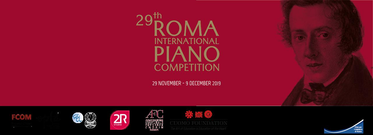 Roma International Piano Competition - A Dicembre a ROMA ! Si rinnova anche per quest'anno la collaborazione tra la 2R Studio Produzioni Multimediali e il prestigioso Concorso Internazionale Roma International Piano Competition - Premio Chopin.