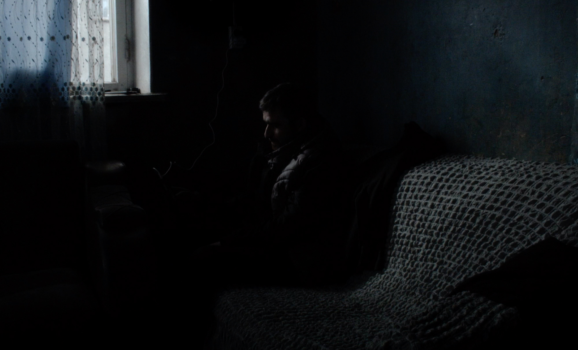 Da-dzma  (A sister and a brother)  Winter. A fifteen-year-old girl in a remote Georgian village tries to get closer to her older brother, just as he decides to leave home in search for work abroad.  18min, 2019    vimeo.com/345423820    (teaser)
