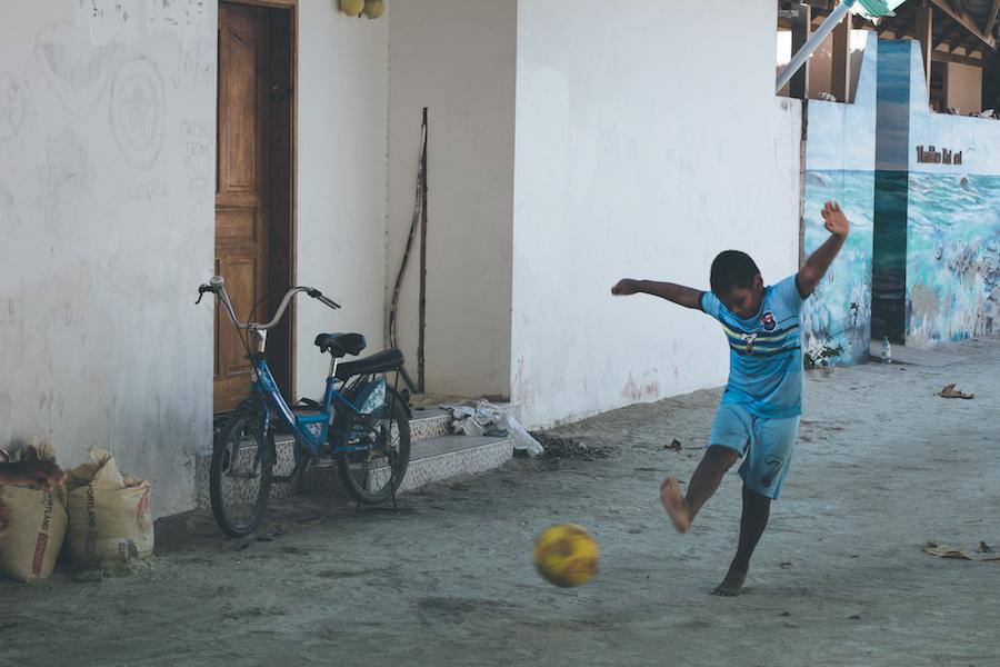 Fodbold på Thoddoo