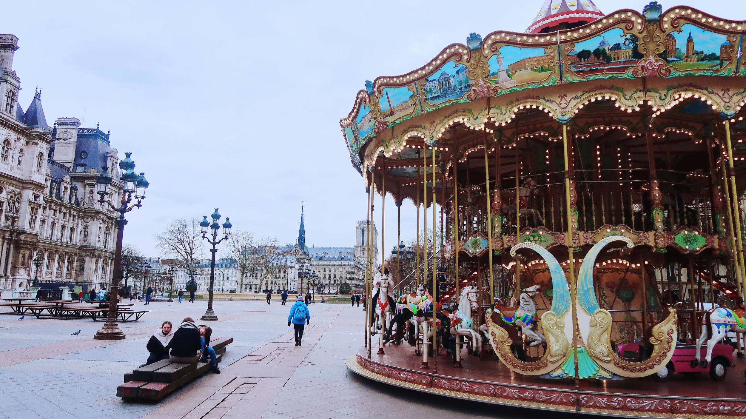Paris has some really great carrousels, if you love them as much as I do … visit  this link.