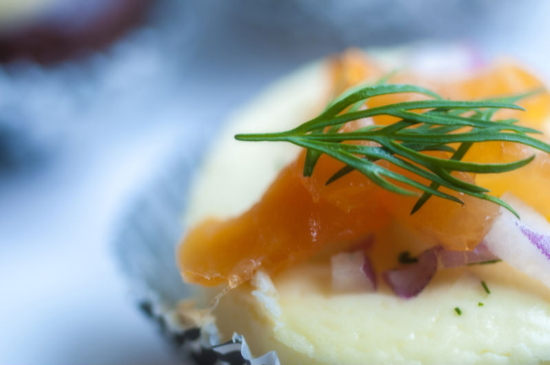 Copy of Petite Smoked Salmon Cheesecake