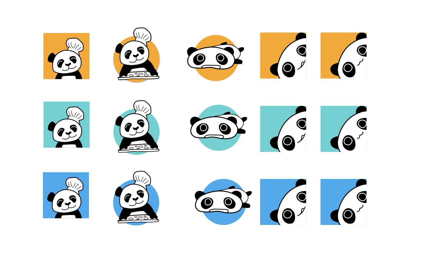 Hungry panda logo