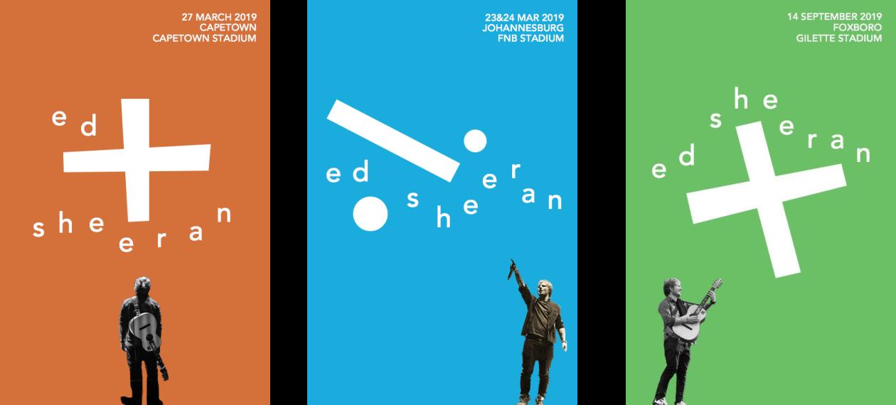 Poster Design for Ed Sheeran (unofficial)