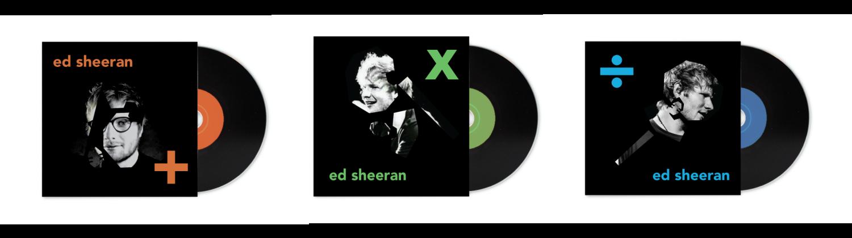 Album Cover design for Ed Sheeran (unofficial)