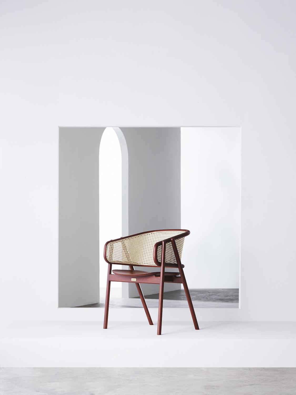 Cane Armchair - 01