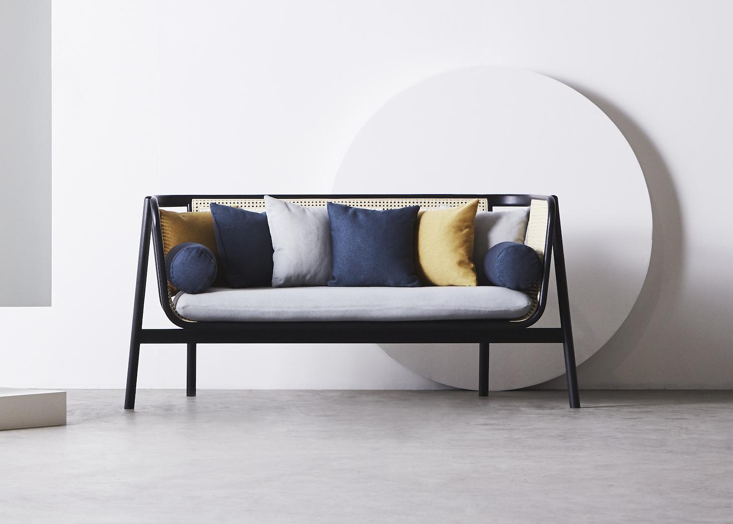 Cane Sofa - 02