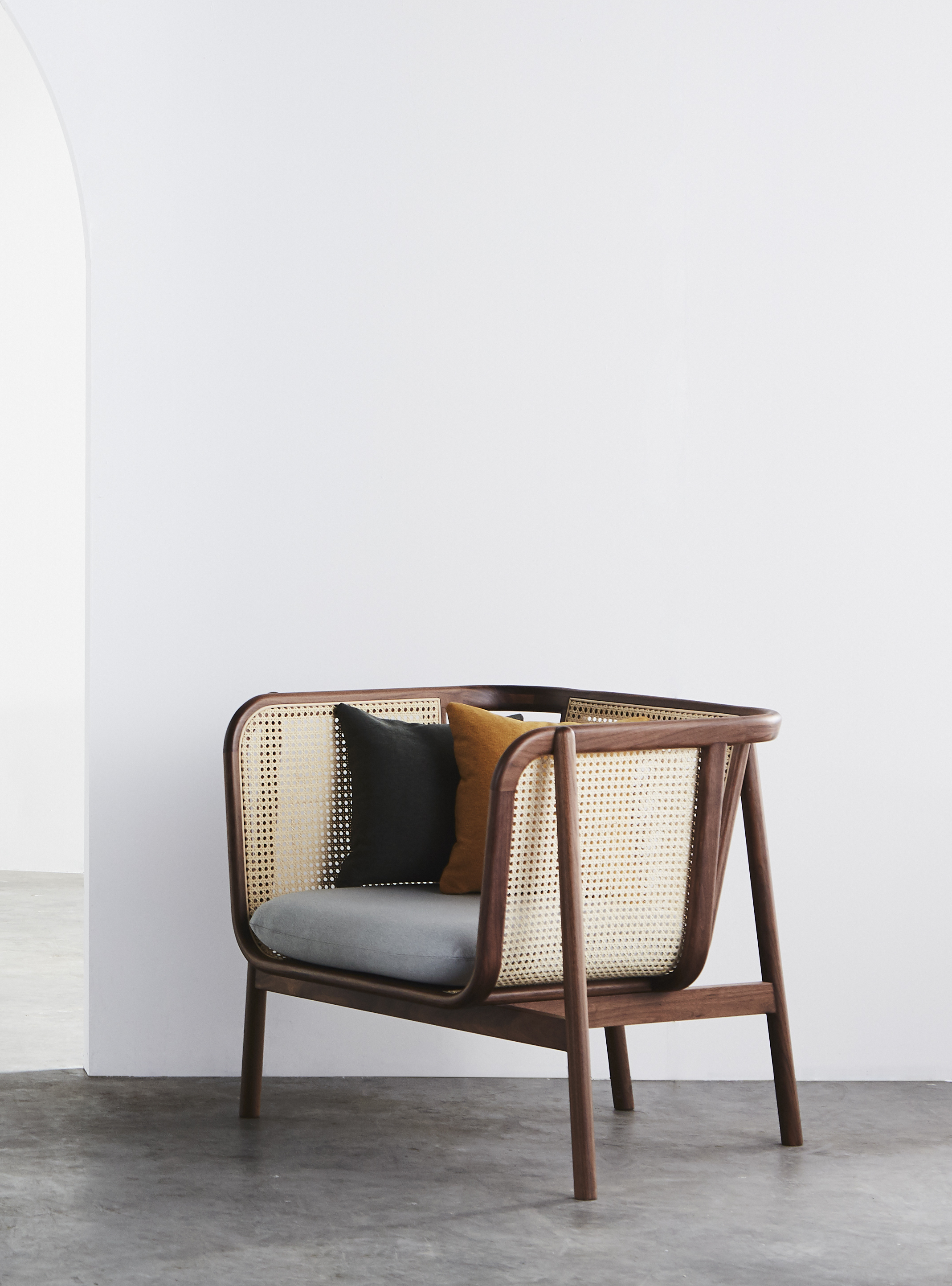 Cane Sofa - 02 (One Seat)
