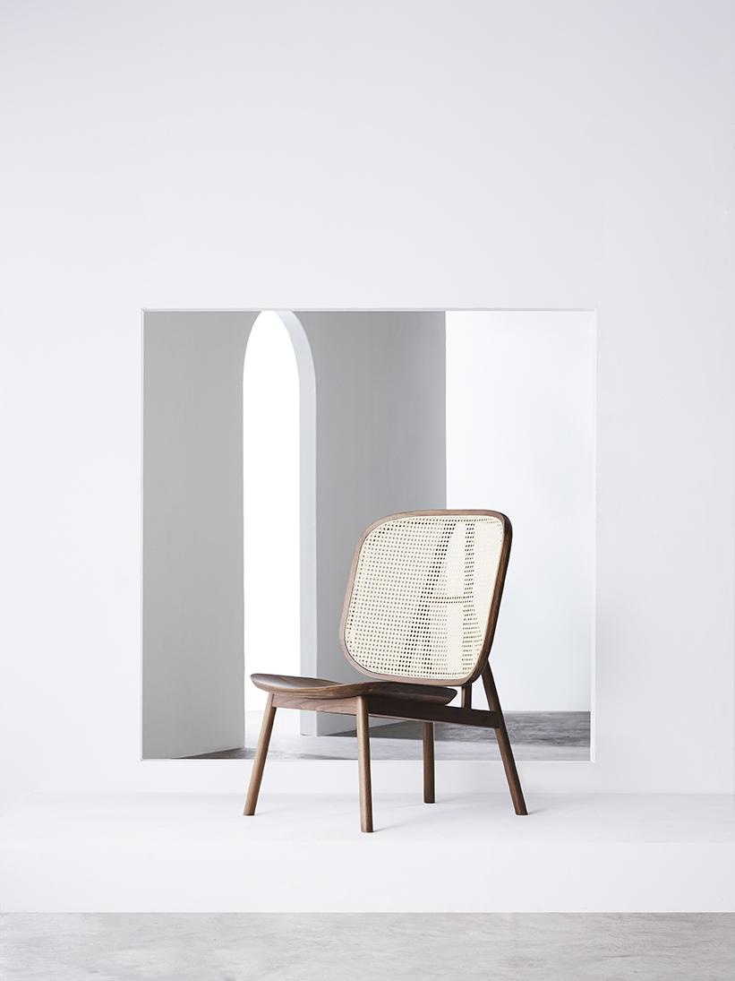 Cane Lounge Chair - 01