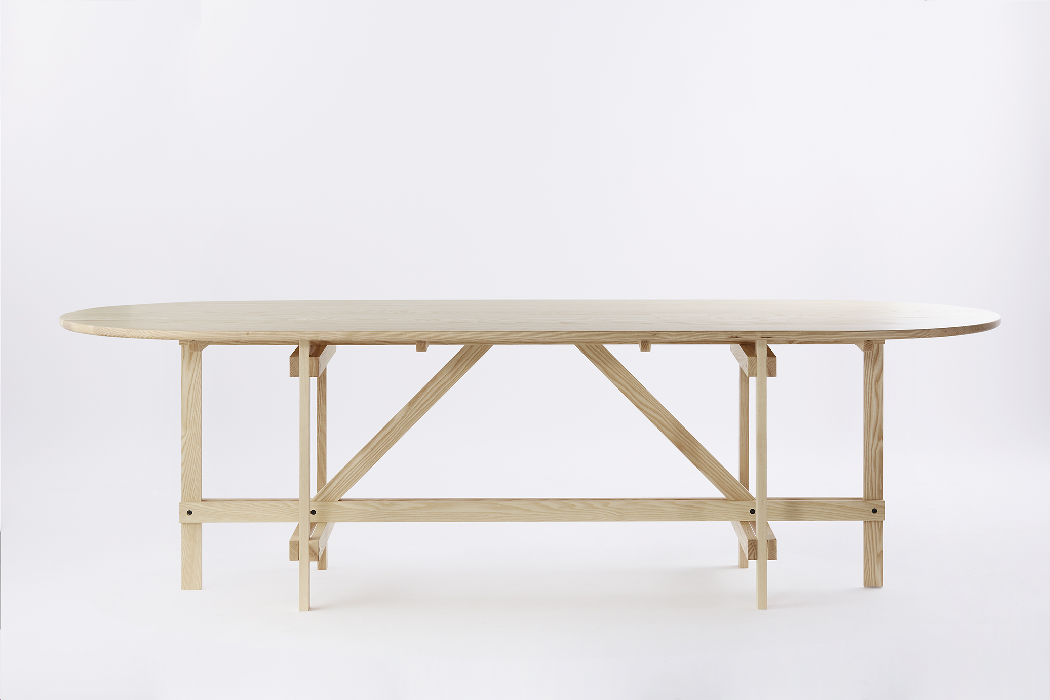 Arch Table - Braced Frame