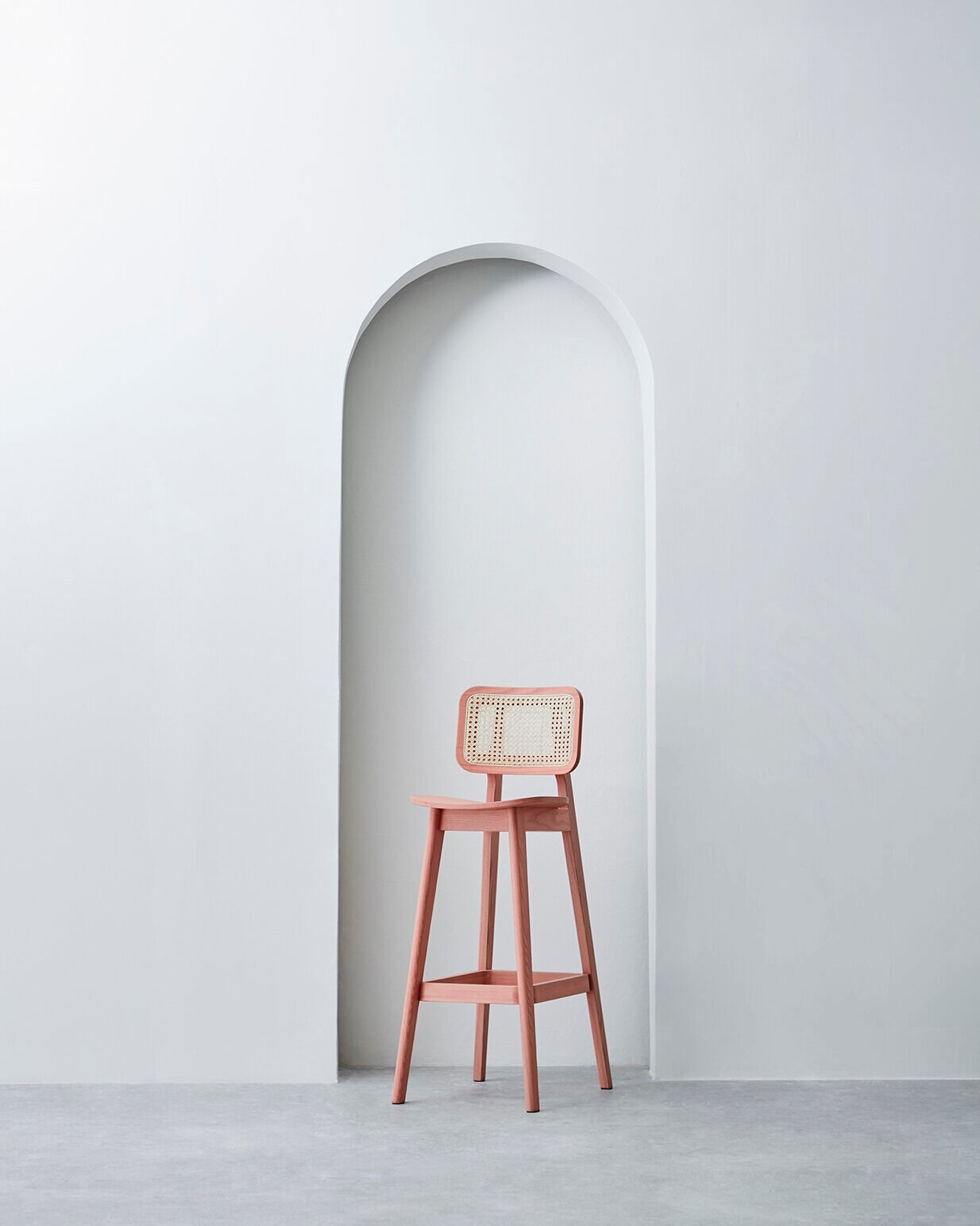 Cane Counter Stool - 01