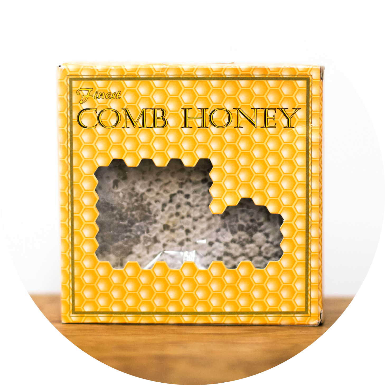 Comb Honey - Sold outComb or Section honey as it is also known, is built by bees directly into the wooden box you receive it in. Harvested in Donegal, it is a speciality item and a wonderful gift for bee lovers.