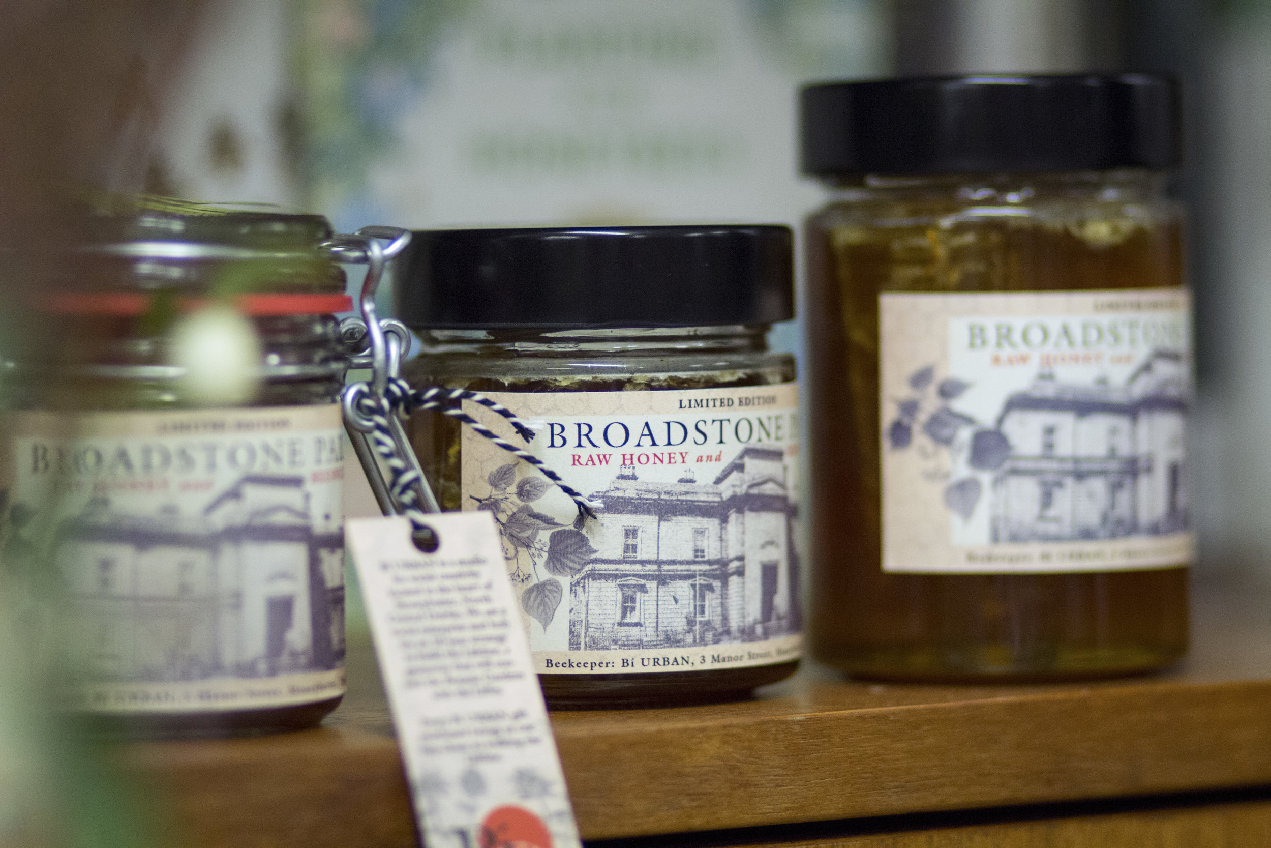 Bí URBAN'S BROADSTONE HONEY IS NEARLY HERE - Launching on October 17th 2019