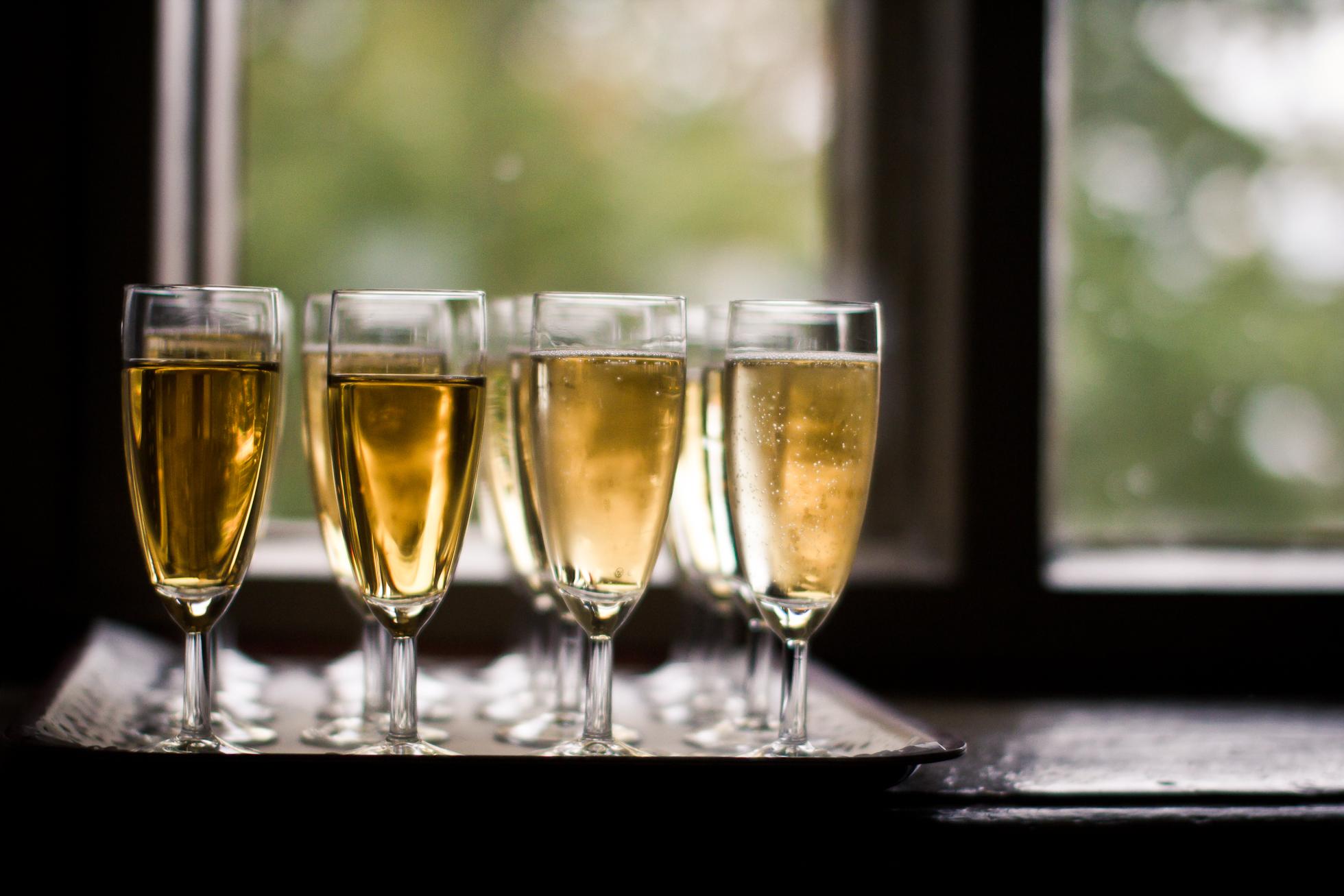 Raise a glass - We now serve Alcohol